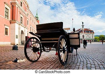Krakowski-Prämie, die alte Stadt der Warsaw, Poland