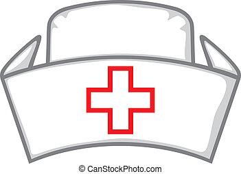 krankenschwester, kappe