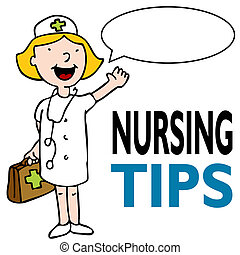 krankenschwester, medizinischer satz