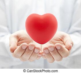 Krankenversicherung oder Liebeskonzept