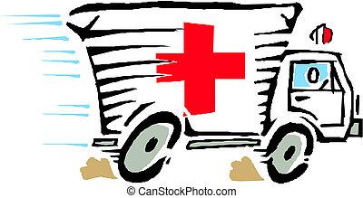 Krankenwagenvektor