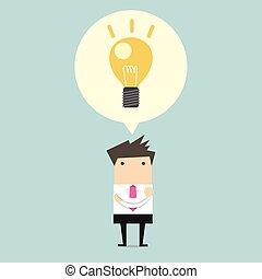 Kreative Geschäftsleute verstehen das.