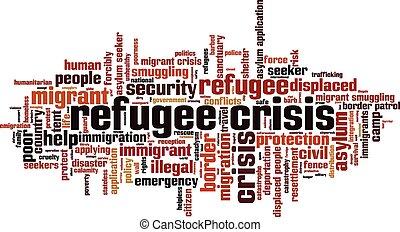 krise, [converted].eps, flüchtling