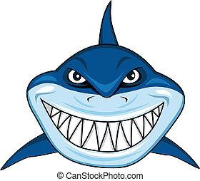 Lächelnder Hai
