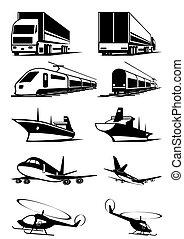 ladung, transport, perspektive