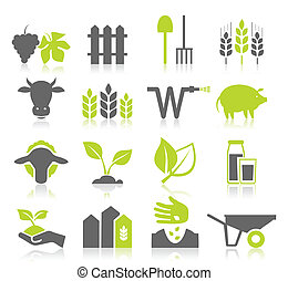 landwirtschaft, ikone