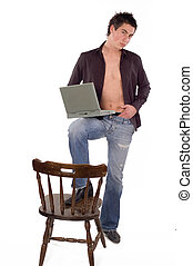 Laptop-Mann