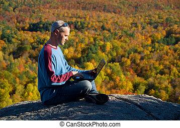 Laptop Natur