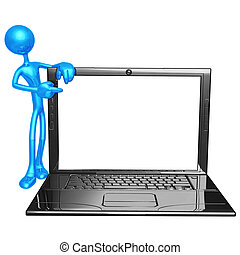 Laptop-Rahmen