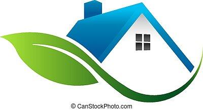 Leaf House Logo.