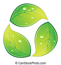 Leafy Recyclesymbol