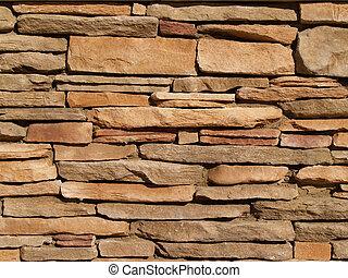 Legierte Steinmauer