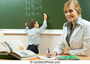 Lehrer.