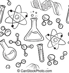 Leichter wissenschaftlicher Hintergrund
