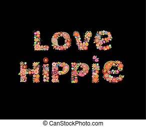 liebe, hippie