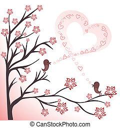 Liebe Vögel.