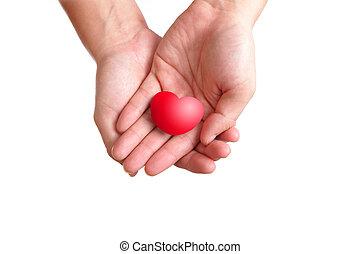 Liebes Herz in der Hand