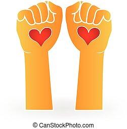 Liebeshände-Logo.