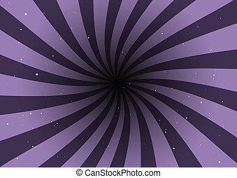 Lila Vektor-Hintergrundwirbel