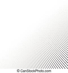 Linien Perspektive Hintergrund.