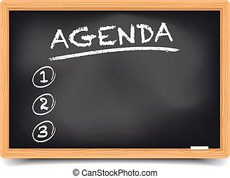 Liste Agenda.