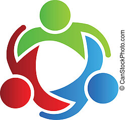 logo, 3, design, teilhaber