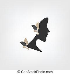 Logo - Frauenprofil