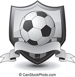 logo, fußball, emblem