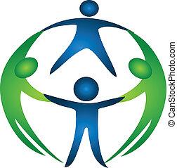 logo, gruppe, mannschaft