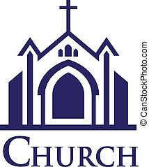 logo, kirche