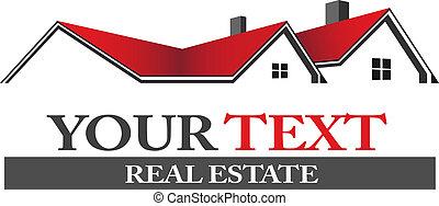 logo, real estate