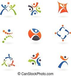 logos, 2, menschliche , heiligenbilder