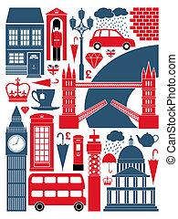 London symbolisiert die Sammlung