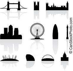 Londons berühmte Wahrzeichen.