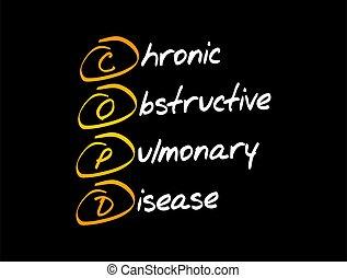 lungen, copd, -, hinderlich, krankheit, chronisch