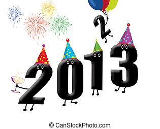 Lustig 2013 Neujahr
