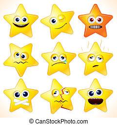 Lustige Sterne