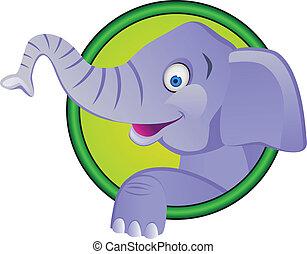Lustiger Elefanten-Zeichentrick