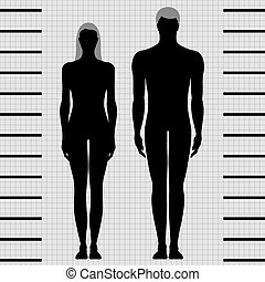 Männliche und weibliche Körpertemperatur