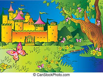 märchen, castle.