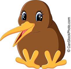 Mach den Kiwi-Vogel zu.