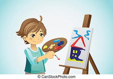 Malerjunge