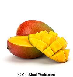 mango, fruechte