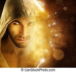 Mann des Lichts