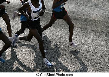 Marathon läuft