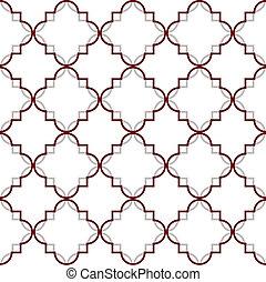 Marokkanisches Muster.