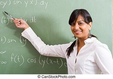 Mathelehrer.