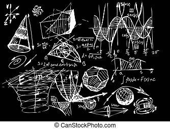 Mathematik und Geometrie.