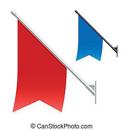 Mauerflaggen