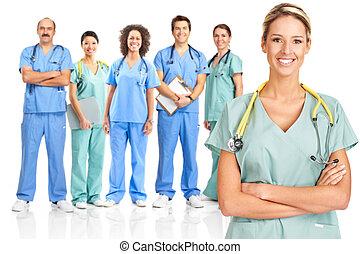 medizin, doktoren